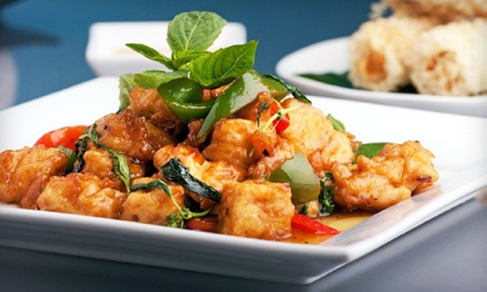 Thai D'or - West Clearbrook: Thai Cuisine at Thai D'or (50% Off). Two Options Available.
