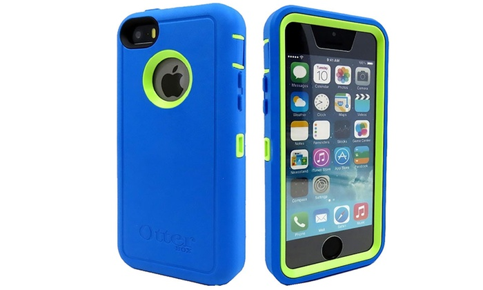 Iphone 5c Otterbox Clear iPhone 5C Otterbox Def...