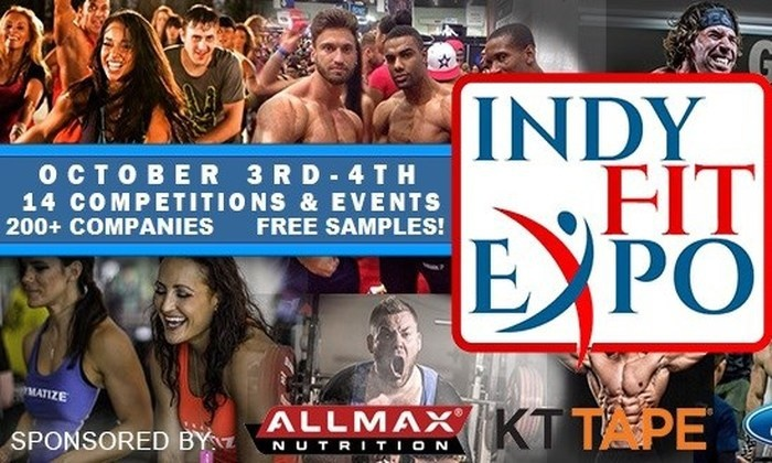 Indianapolis Sport & Fitness Show - Indiana State Fairgrounds: Up to 75% Off tickets for Indy Fitness Expo at Indianapolis Sport & Fitness Show