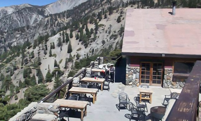 Mt Baldy Ski Lifts - Mt. Baldy: Scenic Lift Ride and Lunch, Breakfast, or Dinner for Two, Three, or Four at Mt Baldy Ski Lifts (Up to 61% Off)