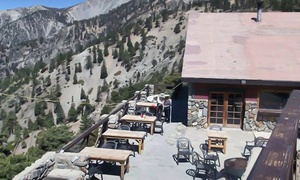 Mt Baldy Ski Lifts: Scenic Lift Ride and Lunch, Breakfast, or Dinner for Two, Three, or Four at Mt Baldy Ski Lifts (Up to 61% Off)