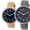 Simplify The 2600 Men's Leather Strap Watches