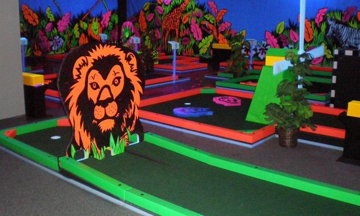 Glowgolf - Cincinnati: Three Games of Glow in the Dark Mini Golf for Two, Four, or Six at Glowgolf in Murfreesboro (Up to 60% Off)