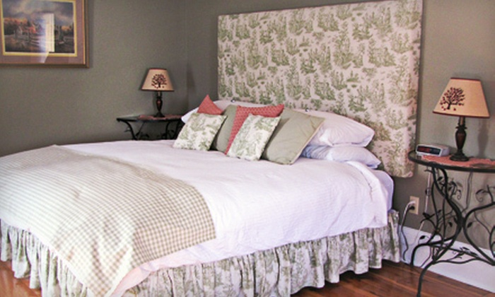 In Wolfville Luxury Bed and Breakfast - Wolfville: $159 for a One-Night Stay with Three-Course Lunch and Wine Tasting at In Wolfville Luxury Bed and Breakfast ($318 Value)
