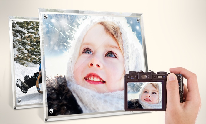 Custom Crystal Photo Frames by Printerpix