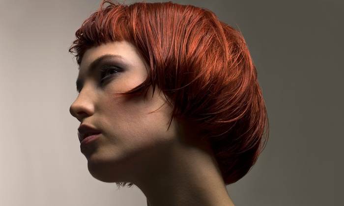 Hair Mechanic Junkies - Parkland: Shampoo, Haircut, and Style with Optional Partial Highlights at Hair Mechanic Junkies (Half Off)