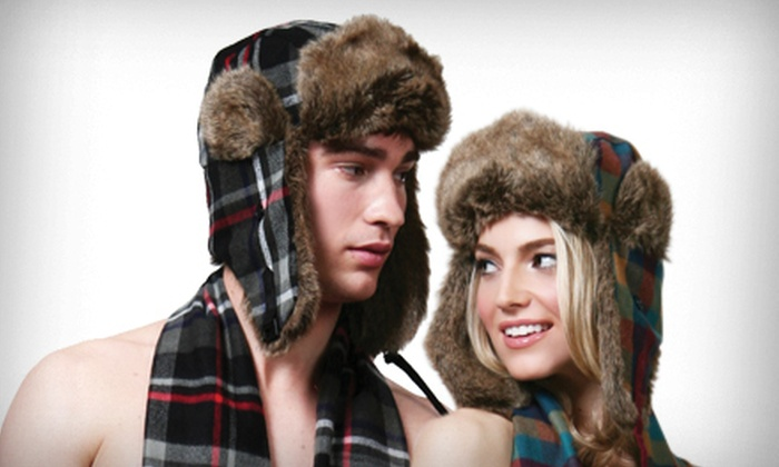 David & Young Printed Trapper Hats: $15 for a David & Young Printed Trapper Hat ($34 List Price). Five Options Available. Free Shipping and Free Returns.