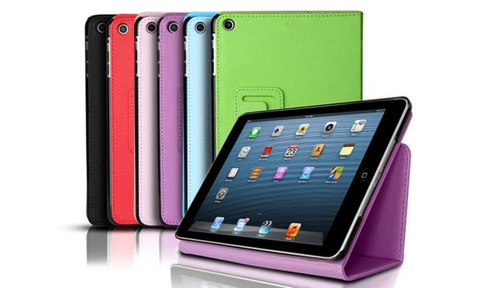 Smart-Cover iPad mini Folio Snap Case: Smart-Cover Folio Snap Case with Built-in Stand for iPad mini 2nd Generation in Black, Blue, Green, Pink, Purple, or Red