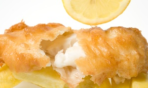 REEL fishandchips: Fish and Chips With Sides and Drinks For One or Two at REEL Fish and Chips (Up to 44% Off)