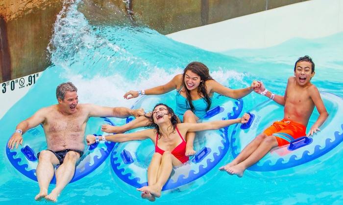 Schlitterbahn Waterpark - Schlitterbahn Waterpark Kansas City: Admission + $10 in Splash Cash to Schlitterbahn Waterpark Kansas City. Two Options Available.