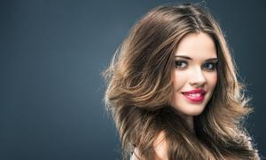 Privilège coiffure: Shampoing et brushing sur cheveux court à mi longs, option coupe, couleur ou balayage dès 19,90€ chez Privilège coiffure