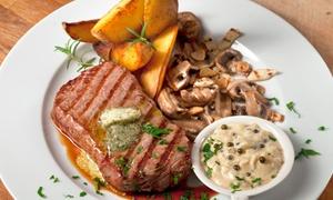 Restauracja Pieprz: Soczysty stek z dodatkami i dowolną zupą dla 2 osób za 69,99 zł i więcej opcji w Restauracji Pieprz w Sopocie (do -43%)