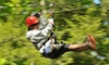 Up to 27%  Off Zipline Packages at Zoar Outdoor