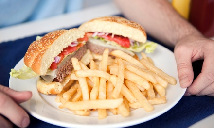 Burgers and American Food or a Family Meal at Gus Jr. (Up to 43% Off). Three Options Available.