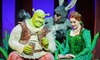 """""""Shrek The Musical"""" - Victoria Theatre: """"Shrek the Musical"""" at the Victoria Theatre on January 15, 16, 17, 22, 23, or 24 at 8 p.m. (Up to 44% Off)"""