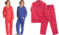 GROUPON: Angelina 100% Cotton Flannel Women's Pajama Set Angelina 100% Cotton Flannel Women's Pajama Set