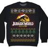 Men's Jurassic World-Themed Ugly Holiday Sweatshirts (Sizes M & L)