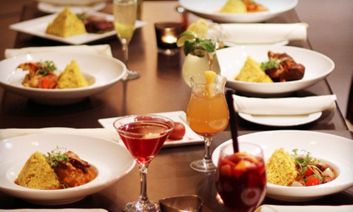 5th Elementt Restaurant - Downtown Toronto: Indian Dinner for Two or Four with Appetizers and Desserts at 5th Elementt Restaurant (Up to 51% Off)