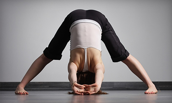 Thought Design - Rockford: Five Drop-in Yoga Classes or One Month of Unlimited Yoga Classes at Thought Design (Up to 59% Off)