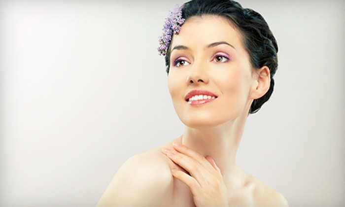 Laser Magic - Multiple Locations: Fractional CO2 Laser Therapy for the Neck, Entire Face, or Both at Laser Magic (Up to 76% Off)
