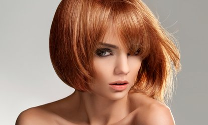 Cut and Blow-Dry Plus Conditioning Treatment or Half Head of Highlights at Thomas H Hairstudio