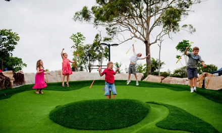 18 Holes of Mini Golf $9, 2 $17, 4 $34, or 8 People $64 at Parkwood Village Up to $128 Value