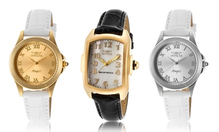 Invicta Women's Angel or Lupah Watch. Multiple Styles Available. Free Returns.