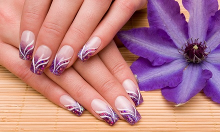 Choice of Gel Polish with Sculpted Art or Acrylic Nail Extensions at Be_Beautifully_You