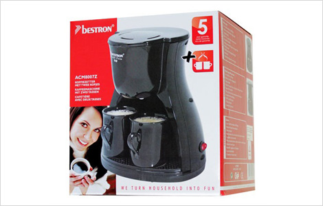 40% off Coffee Time ?? USD 198 & up Bestron Coffee Maker, Gemini Milk Frother, Frigidaire Coffee ...