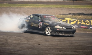 Flatout Factory: Introduction to Drift Course for One or Two with Flatout Factory (Up to 71% Off)