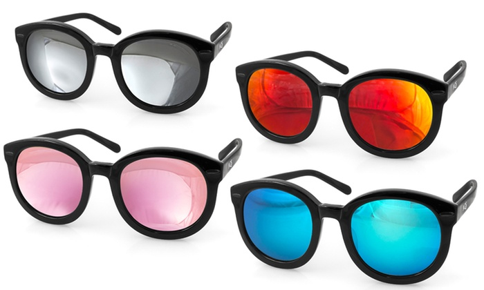 Aqs Mirrored Sunglasses  85 off on aqs betty women s sunglasses groupon goods