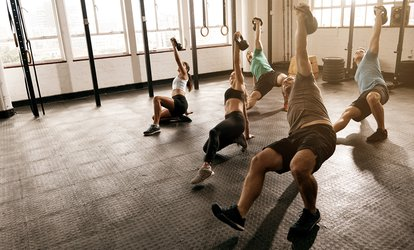 10 or 20 <strong>CrossFit</strong> Classes at <strong>CrossFit</strong> Crag (Up to 61% Off)