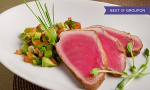 Vega Tapas Cafe: Tapas Dinner with Dessert for Two or Four at Vega Tapas Cafe (47% Off). Groupon Reservation Required.