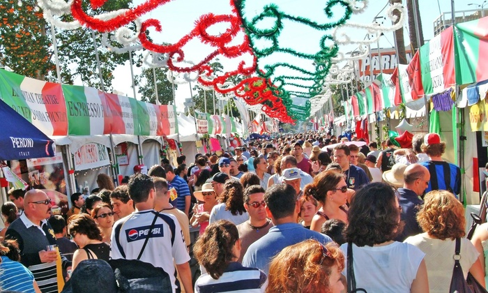 Galbani Italian Feast of San Gennaro - Hollywood: Galbani Italian Feast of San Gennaro for One, Two, or Four on September 25–27 (Up to 60% Off)