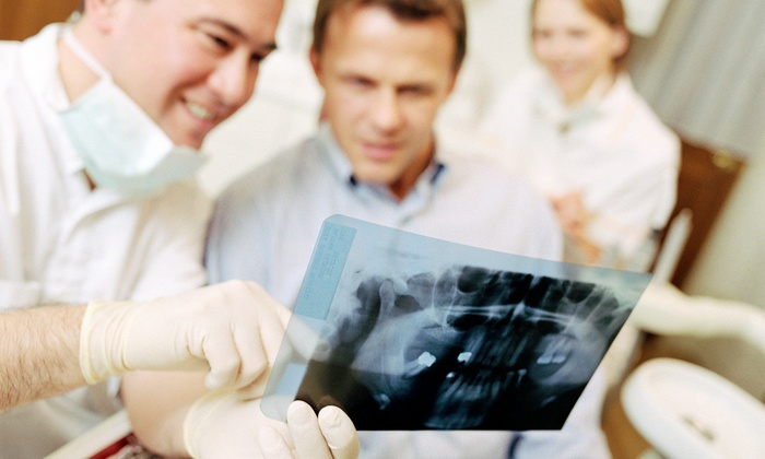 Just Dental - Houston: $146 for a Dental Exam, X-rays, and In-Office Teeth Whitening at Just Dental ($550 Value)