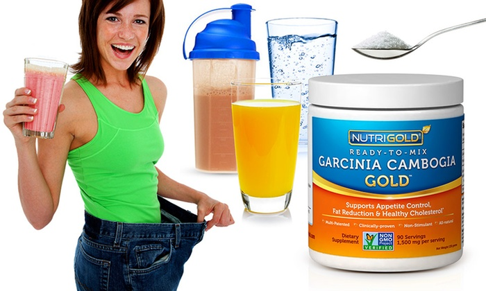 Garcinia Cambogia High Potency Non Gmo Ready 2 Mix Powder Groupon