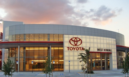 Window Tinting for Two Windows, or Five Windows on a Sedan or SUV at West Kendall Toyota (Up to 51% Off)