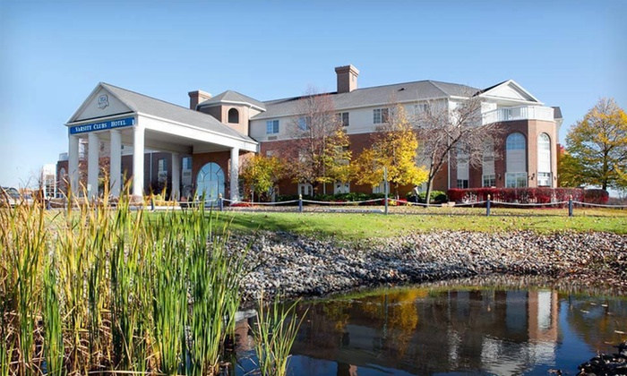 Varsity Clubs of America - Mishawaka, IN: Two-Night Stay with Daily Breakfast for Two at Varsity Clubs of America–South Bend in Mishawaka, IN