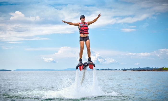 Wamiltons Customs INC - Central Industrial Park North: 25 or 50 Minutes of Flyboarding at Wamiltons Customs Inc (Up to 47% Off)