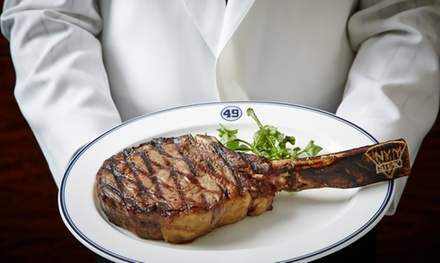 Dinner for Two or Four at New York Yankees Steakhouse (44% Off)