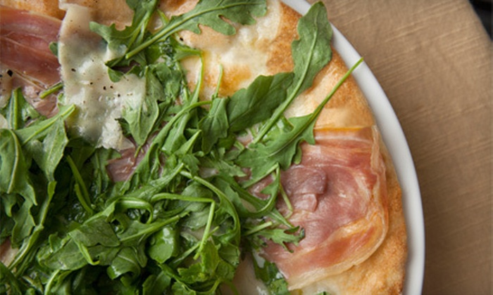 Oro Pomodoro - Central Rockville: Wood-Fired Pizza and Italian Cuisine at Oro Pomodoro (Half Off). Two Options Available.