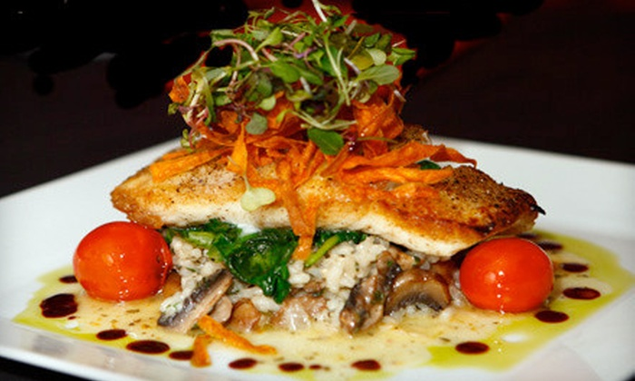 Port Restaurant and Bar - Corona del Mar: Mediterranean Lunch or Brunch for Two or Dinner for Two or Four at Port Restaurant and Bar (Up to Half Off)