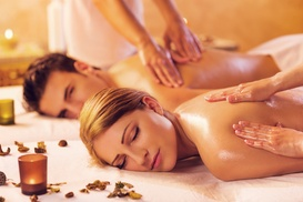 Serenity Day Spa: A 60-Minute Couples Massage at Serenity Day Spa (60% Off)