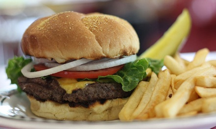 Diner Food at Chatterbox Drive In (Up to 45% Off). Two Options Available.
