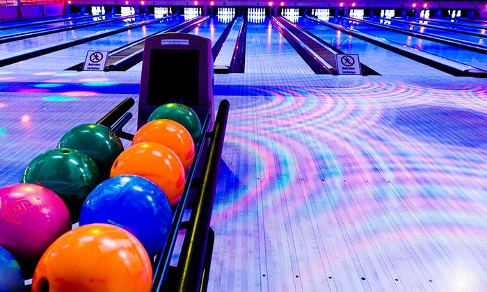Jupiter Bowl - Salt Lake City: $29 for 90 Minutes of Bowling with Shoe Rental & Tokens for Up to 6 at Jupiter Bowl (Up to $153 Value)