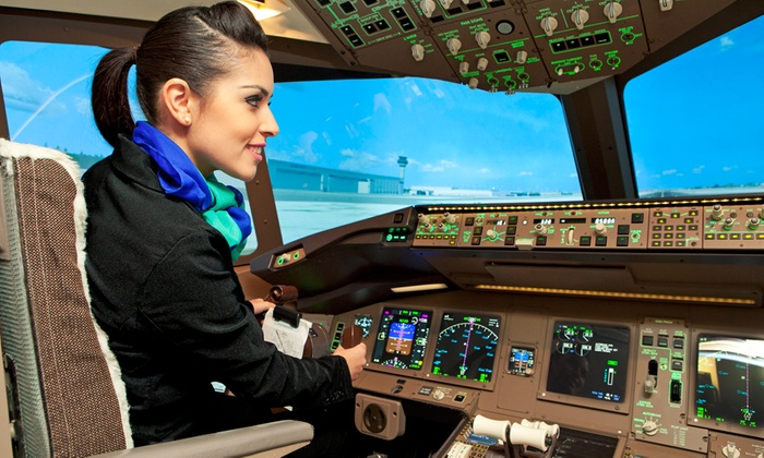 uFly Simulator - Toronto Pearson International Airport: One- or Two-Hour Flight Simulator Experience for Up to Three People at uFly Simulator (Up to 64% Off)
