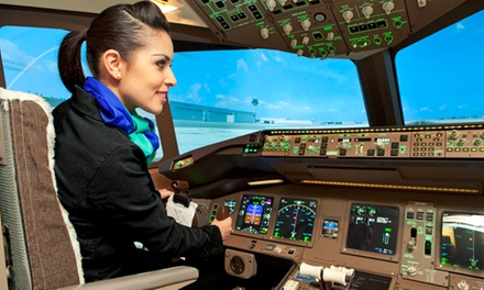 One- or Two-Hour Flight Simulator Experience for Up to Three People at uFly Simulator (Up to 64% Off)