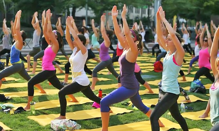 Shine Yoga Festival - Glendale: Admission for One or Two at Shine Yoga Festival (Up to 55% Off)