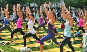 Shine Yoga Festival: Admission for One or Two at Shine Yoga Festival (Up to 55% Off)