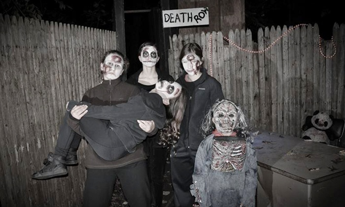 Haunted Trail Of Horrors - Middle Island: Admission for Two, Four, or Eight at Haunted Trail of Horrors (50% Off)